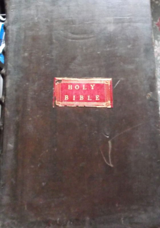 The Holy Bible 1781 Folio